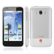 X3177 Smart Phone Android 4.0 MTK6577 Dual Core HDMI 3G GPS 8.0MP Camera- White