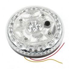 GT-693 Round Car Interior 24 LED White Roof Light  DC 12V