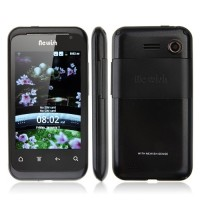 V118 Smart Phone Android 2.3 MTK6513 WiFi 3.5 Inch Muti-touch Screen- Black