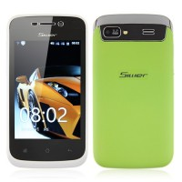 S1805 Smart Phone Android 2.3 MTK6515 1.0GHz 3.5 Inch Muti-touch Screen- Green