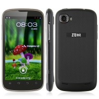 ZTE V970 Grand X Smart Phone 4.3 Inch IPS QHD Screen MTK6577 Dual Core 1G RAM 3G GPS