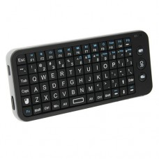 2.4G Bluetooth Wireless Air Mouse & Keyboard With SD Card Reader Black