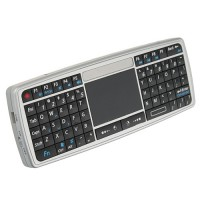 2.4G Wireless Ultra Mini Keyboard Mouse With Touchpad Silver
