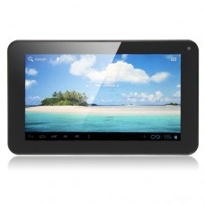 SoXi X18 Deluxe Version 7 Inch Tablet PC Android 4.0 8GB Camera Black