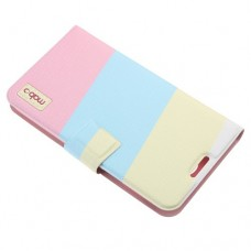 Inner Plastic Case Color Match Leather Cover for SS Galaxy NoteII N7100