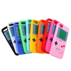 Nintendo Gameboy Silicone Rubber Skin Soft Back Case Cover for iPhone 5
