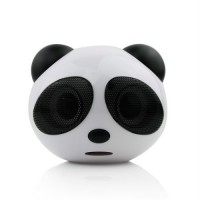 Mini Cute Panda Stereo Speaker for PC Laptop Notebook MP3 MP4 Player
