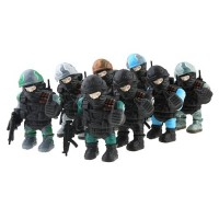 Cute Special Troops Model Figures Collection 8 PCS