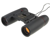 30x60 126m/1000m Compact Binoculars Black