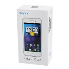 ZOPO Libero ZP500S Ultra-slim Smart Phone 4.0 Inch IPS Screen Android 4.0 MTK6515 1.0GHz- Black