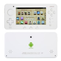 JXD S603 Game Tablet PC 4.3 Inch HDMI 4G Dual Camera White