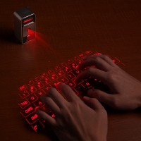 Celluon Magic Cube Laser Projection Keyboard and TouchPad Bluetooth Black