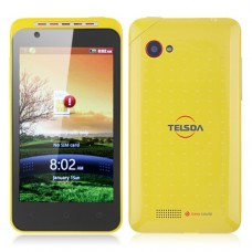 TS616 Smart Phone Android 2.3 MTK6515 4.0 Inch GPS WiFi Bluetooth Camera- Yellow