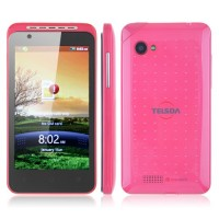 TS616 Smart Phone Android 2.3 MTK6515 4.0 Inch GPS WiFi Bluetooth Camera- Red
