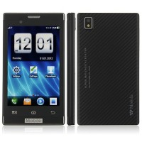 T8950 Phone 4.0 Inch Dual Band Dual Camera FM Bluetooth Touch Screen- Black