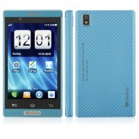 T8950 Phone 4.0 Inch Dual Band Dual Camera FM Bluetooth Touch Screen- Blue