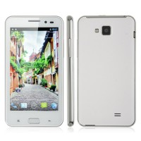Star B93M Smart Phone Android 4.0 MTK6577 Dual Core 3G GPS 4.5 Inch QHD Screen 8.0MP Camera- White