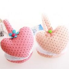 Cute Heart Shaped Style Ear Pad