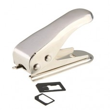 Stainless Iron NanoSIM Card Cutter for iPhone 5