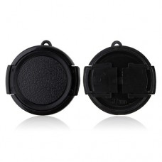 37mm Snap-on Lens Cap Hood Cover