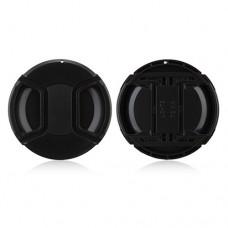 72mm Center Pinch Lens Cap Hood Cover