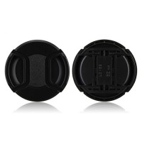 62mm Center Pinch Lens Cap Hood Cover