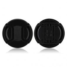62mm Center Pinch Lens Cap Hood Cover