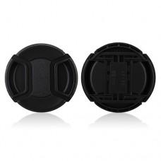 58mm Center Pinch Lens Cap Hood Cover