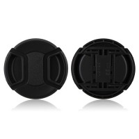 55mm Center Pinch Lens Cap Hood Cover