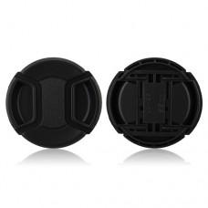 55mm Center Pinch Lens Cap Hood Cover