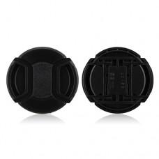 52mm Center Pinch Lens Cap Hood Cover
