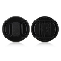 49mm Center Pinch Lens Cap Hood Cover