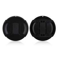 82mm Center Pinch Lens Cap Hood Cover