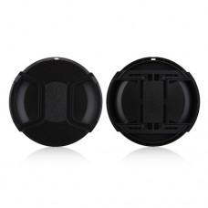 82mm Center Pinch Lens Cap Hood Cover