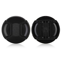 77mm Center Pinch Lens Cap Hood Cover