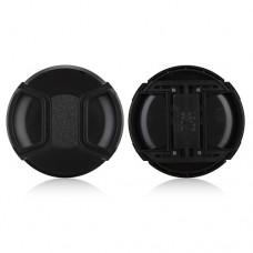 77mm Center Pinch Lens Cap Hood Cover