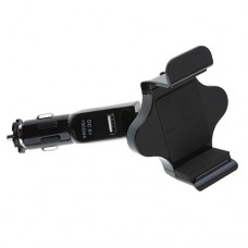 Car Mount with Universal USB Charging for Smartphone