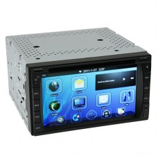 Compact Android 2.3 OS Smart Car DVD Player TV GPS WiFi Bluetooth 6.2 Inch + Freeshipping (DHL)