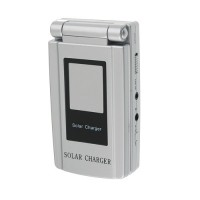 Portable 1400mAh Cell Phone Style Solar Power Bank