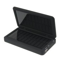 2600mAh Portable Solar Power Bank Backup Battery