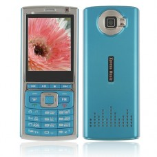 P95 Phone Dual Band Dual Standby Java Bluetooth FM 2.2 Inch- Blue
