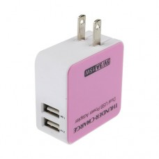 5V 3A Dual USB Power Adapter Charger