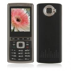 P95 Phone Dual Band Dual Standby Java Bluetooth FM 2.2 Inch- Black