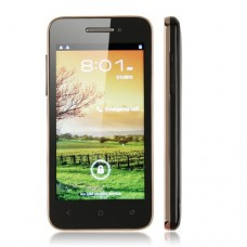 BEDOVE X12 Smart Phone Android 4.0 MTK6577 3G GPS WiFi 4.0 Inch- Champagne