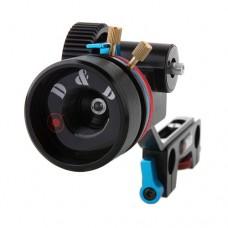 DSLR Follow Focus FF 15mm Rod Gear Ring Belt