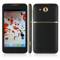 Haipai X720D Smart Phone Android 4.1 MTK6577 3G GPS WiFi 4.7 Inch- Black