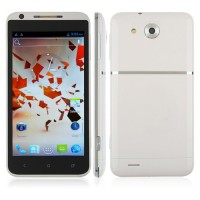 Haipai X720D Smart Phone Android 4.1 MTK6577 3G GPS WiFi 4.7 Inch- White