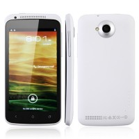 ONE X Pro Smart Phone Android 4.0 MTK6577 1.0GHz 3G GPS WiFi 4.5 Inch QHD Screen- White