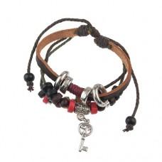 Multi-layer Key Pendant Bracelet