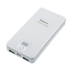 10000mAh 2 USB Port Power Bank for Mobile Phones Tablet PC